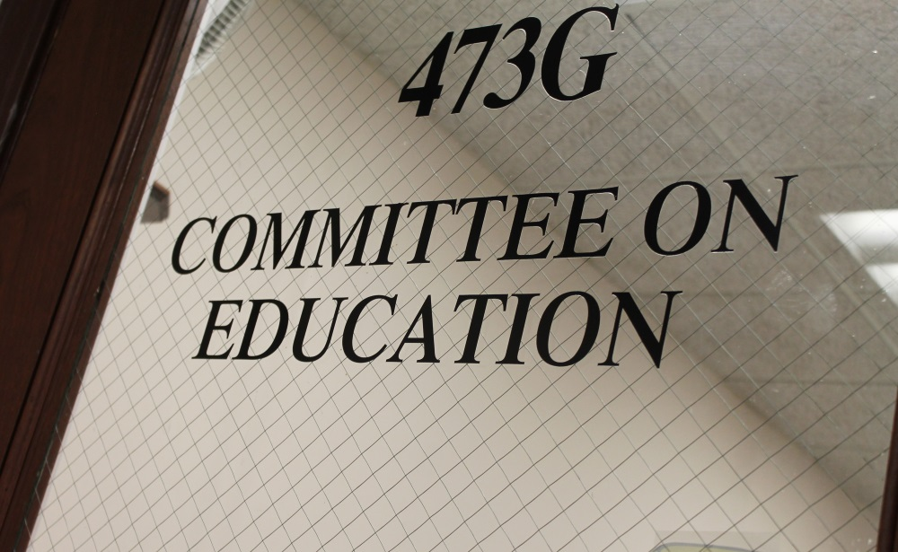 The Education Committee reported out more than 20