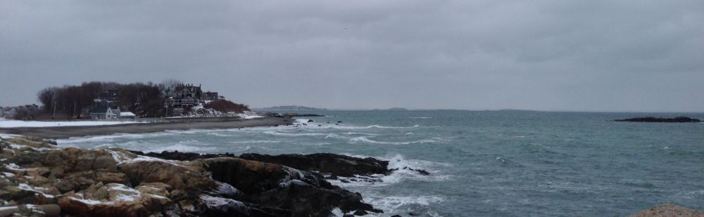 The waters off Cohasset and Hull were churning on