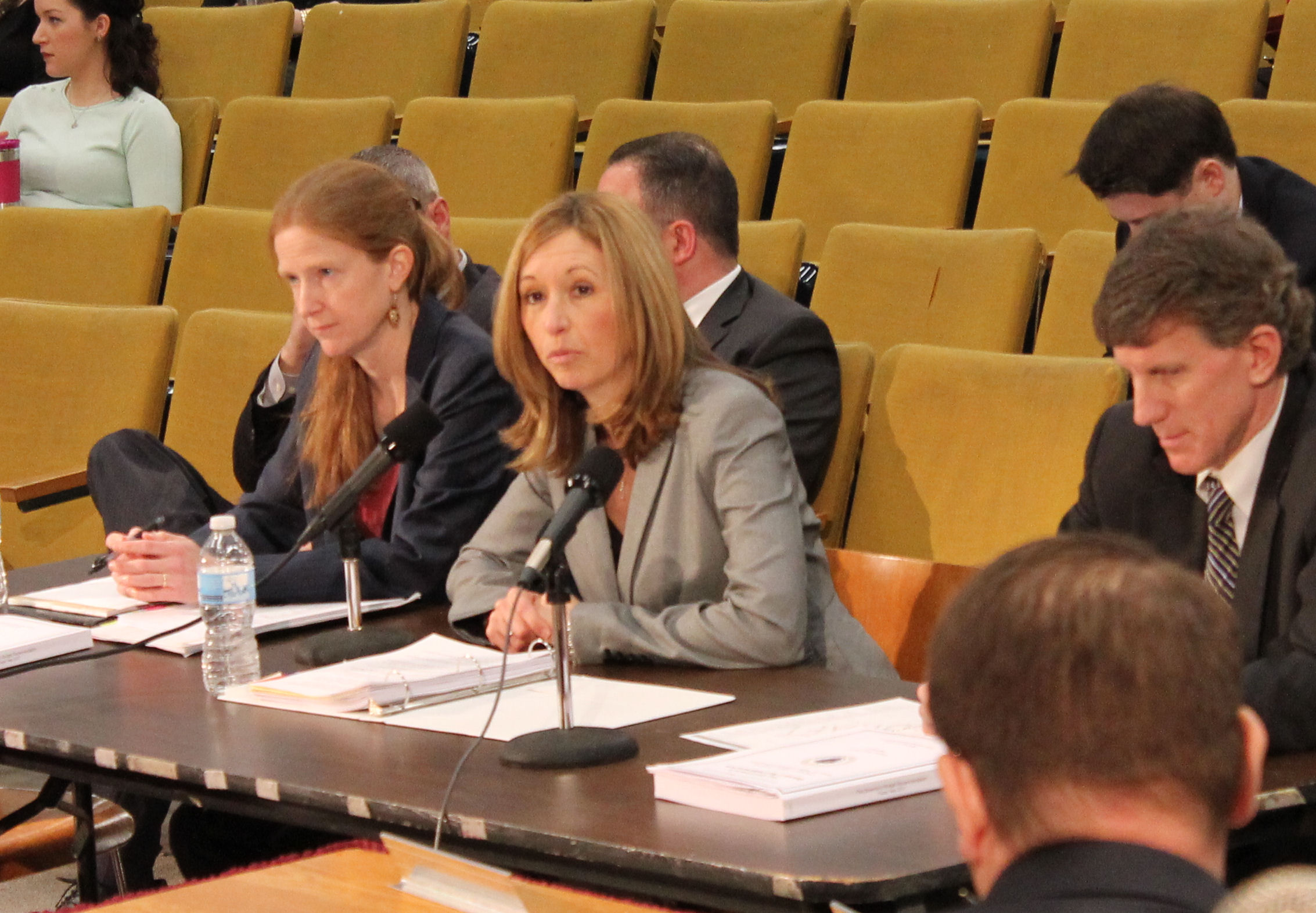 Sec. Lepore testified before a joint hearing of th