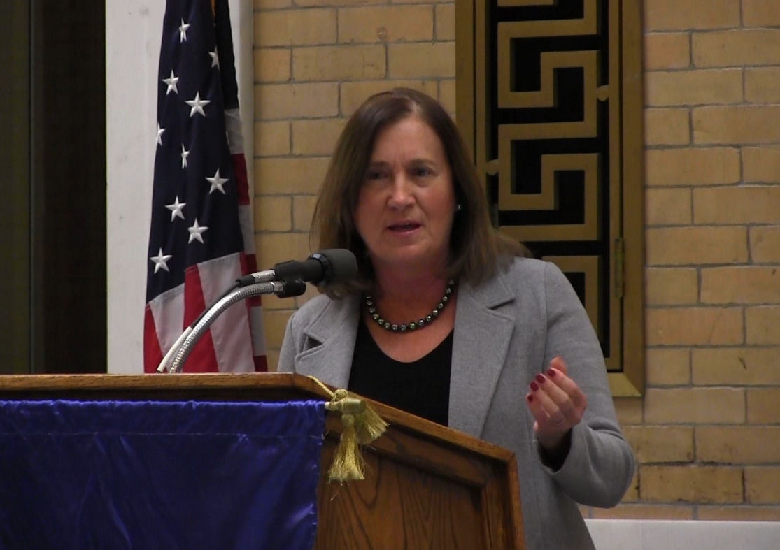 Treasurer Goldberg delivered remarks Wednesday at