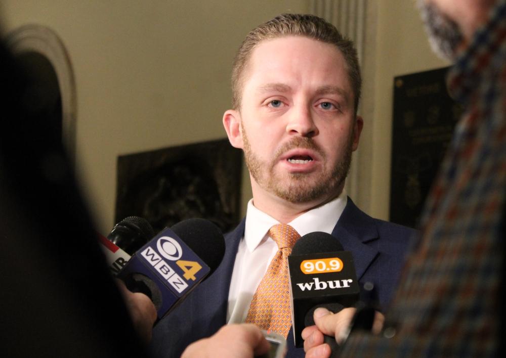 Marijuana Policy Committee Co-Chairman Mark Cusack