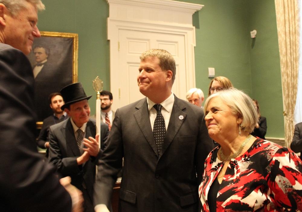 Attleboro Mayor-elect Paul Heroux had initially sa