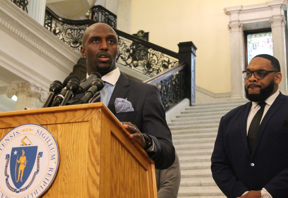 Patriots player Devin McCourty spoke about crimina