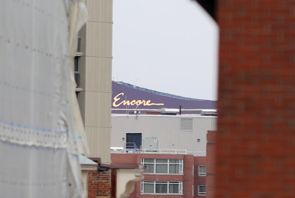Encore Casino as seen from Ashburton Park [Photo: Sam Doran/SHNS/File 2019]