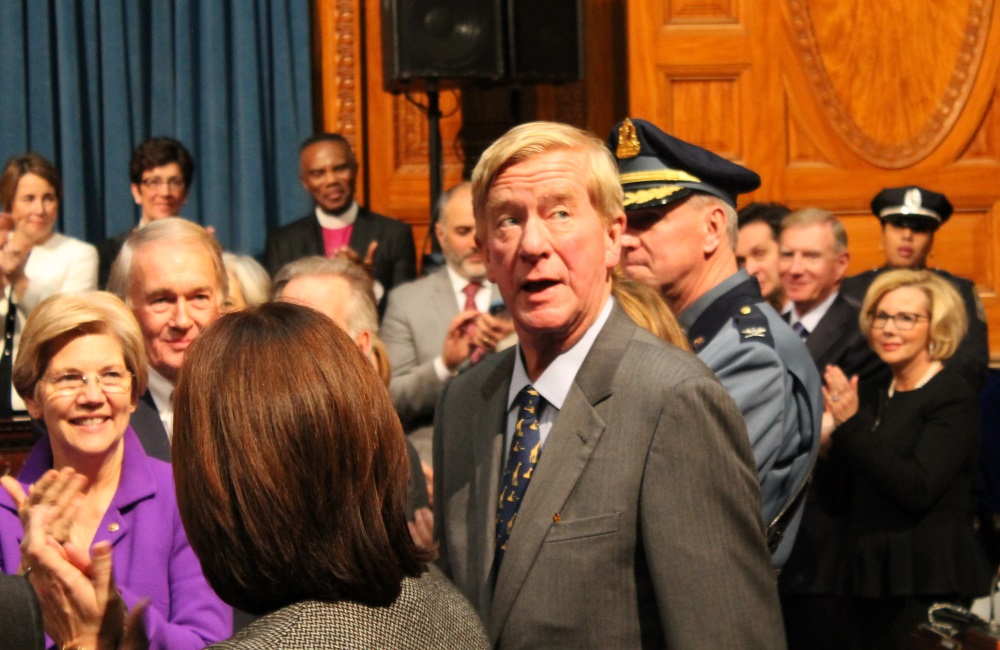 William Weld served as governor of Massachusetts f