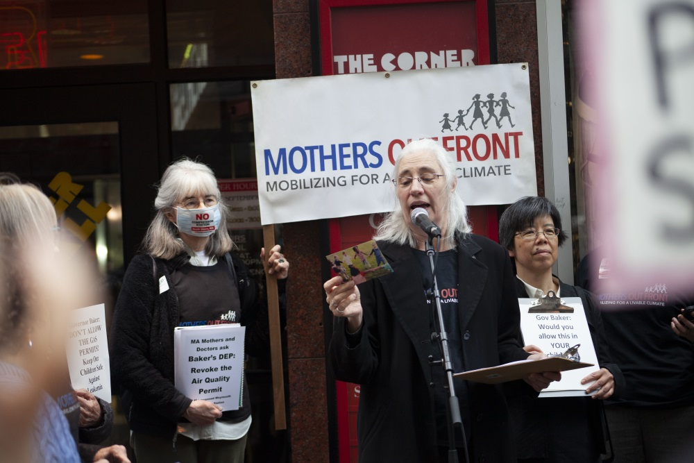 Anne Goodwin, one of the leaders of Mothers Out Fr