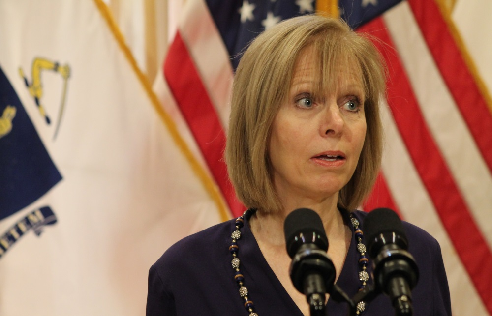 Gaming Commission Chairwoman Cathy Judd-Stein at a