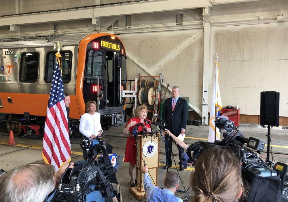 "Transportation chief Stephanie Pollack said, ""We a"