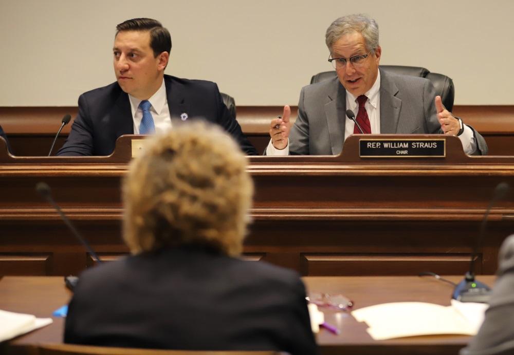 Sen. Joseph Boncore and Rep. William Straus, co-ch