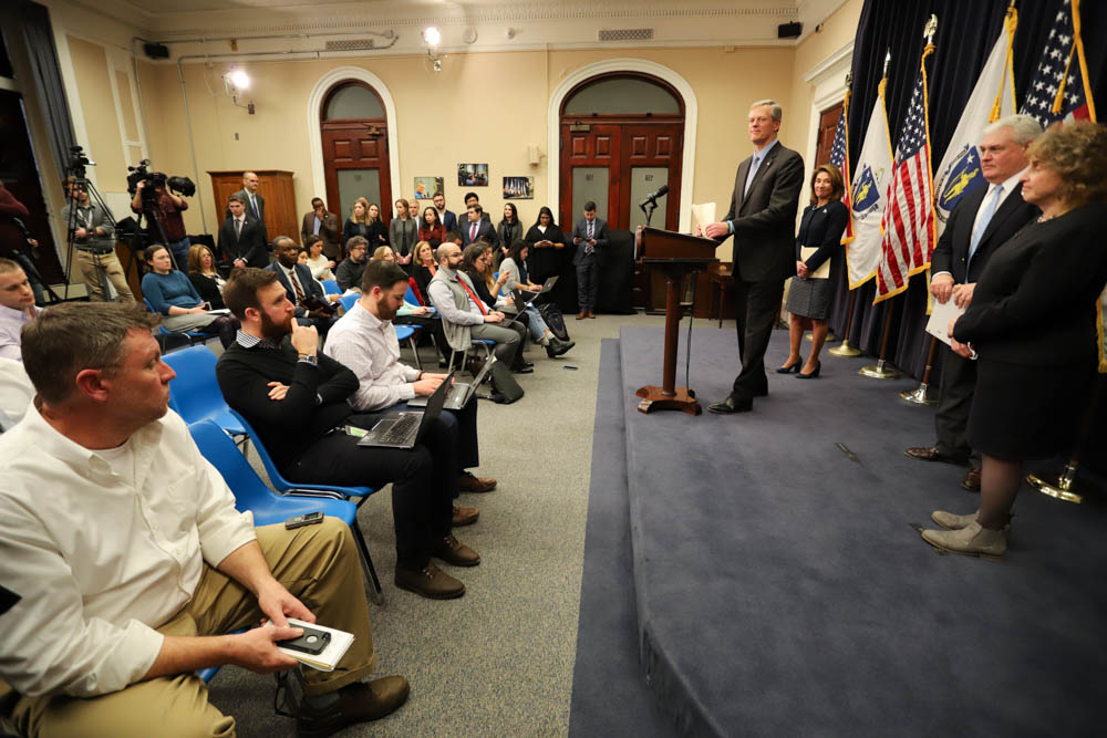 Uncaptioned image for story:School Funding Law Leads Baker to Propose $304M in New Aid