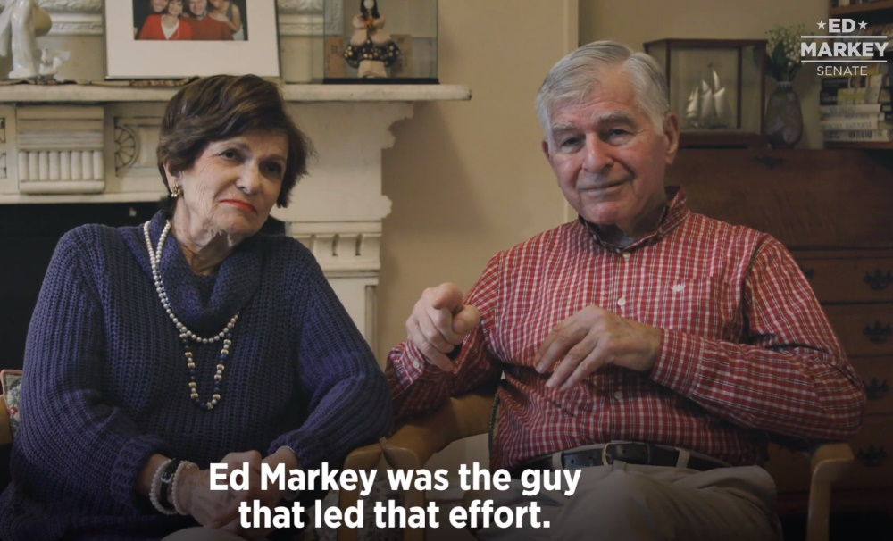 Uncaptioned image for story:Michael and Kitty Dukakis Endorse Markey for Senate