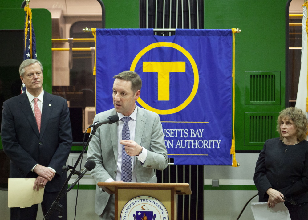 """Uncaptioned image for story:Poftak: MBTA Cuts """"Not Permanent,"""" Target """"Primarily Non-Essential Services"""""""