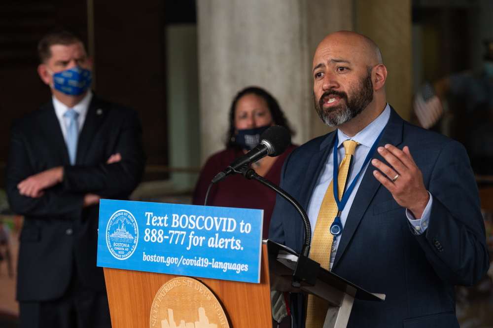 Uncaptioned image for story:Boston Health Chief Martinez Weighing Mayoral Run