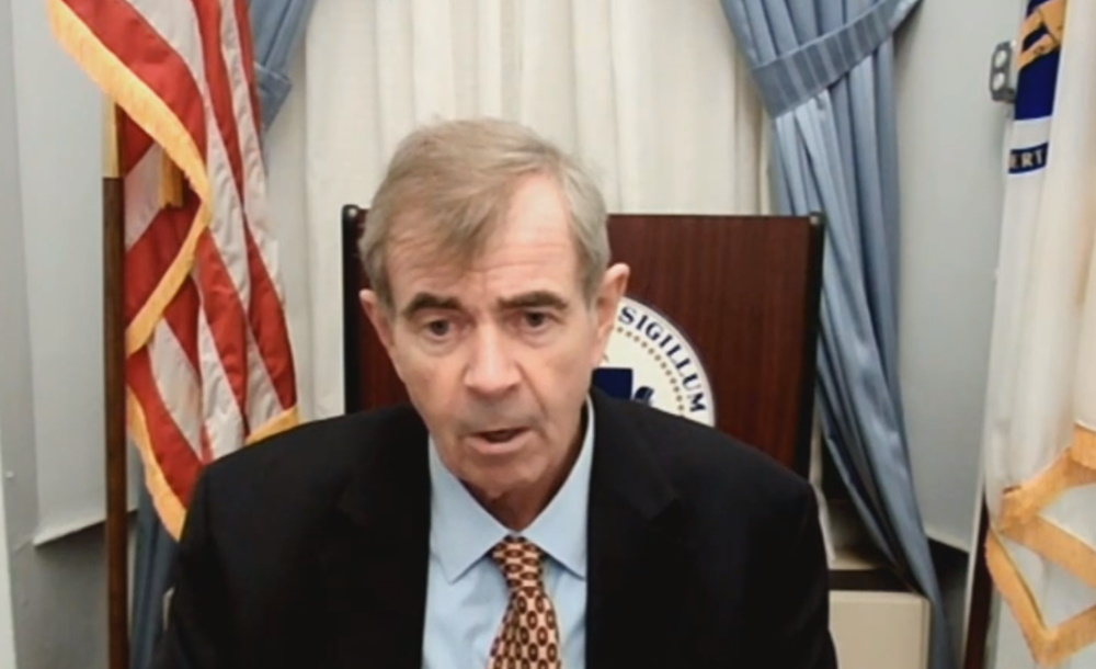 State Secretary William Galvin told budget-writers Tuesday that he is concerned about the accuracy of Census data as lawmakers begin the decennial redistricting process this year. [Screenshot]