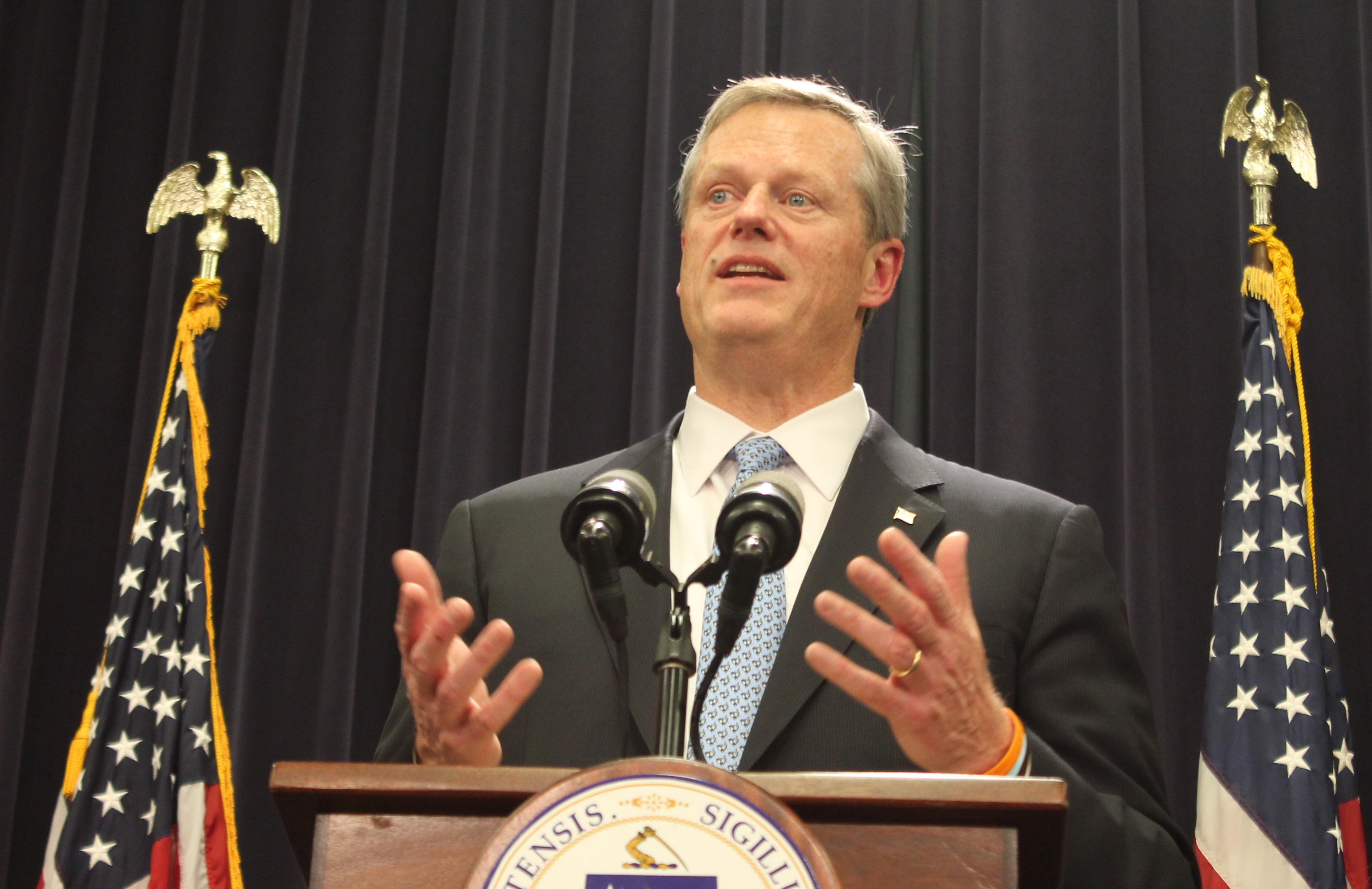we ve had a fentanyl bill pending in the legislature for two years gov charlie baker said fentanyl is now present in 81 percent of the deaths in