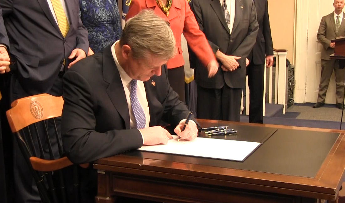 Gov. Baker signs fentanyl bill in to law, which ma